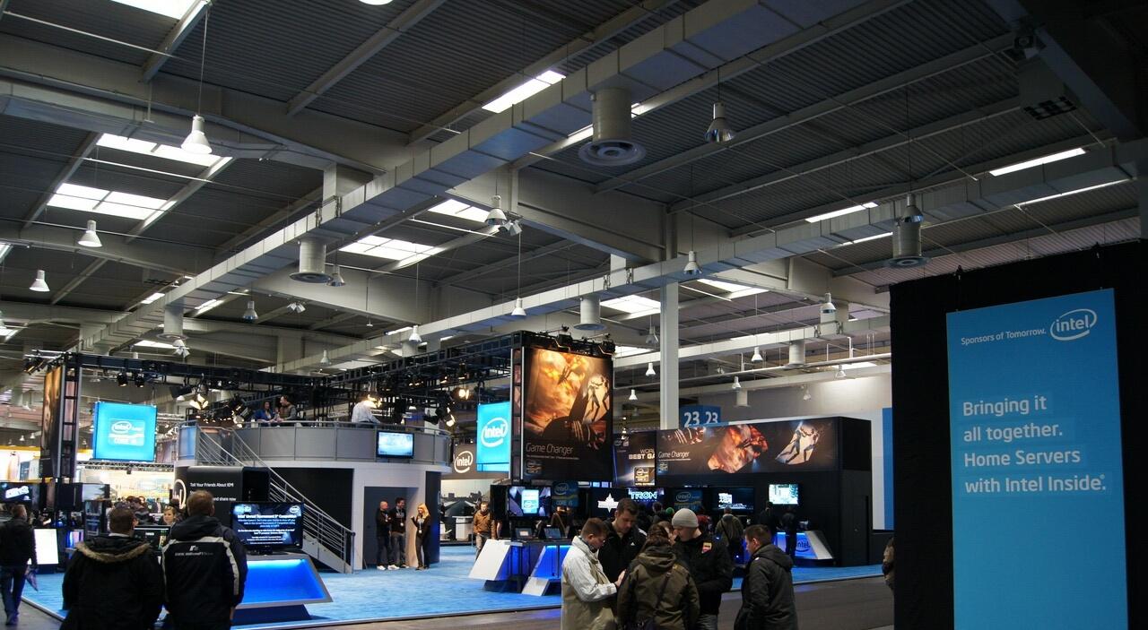 CEBIT 2011: Intel