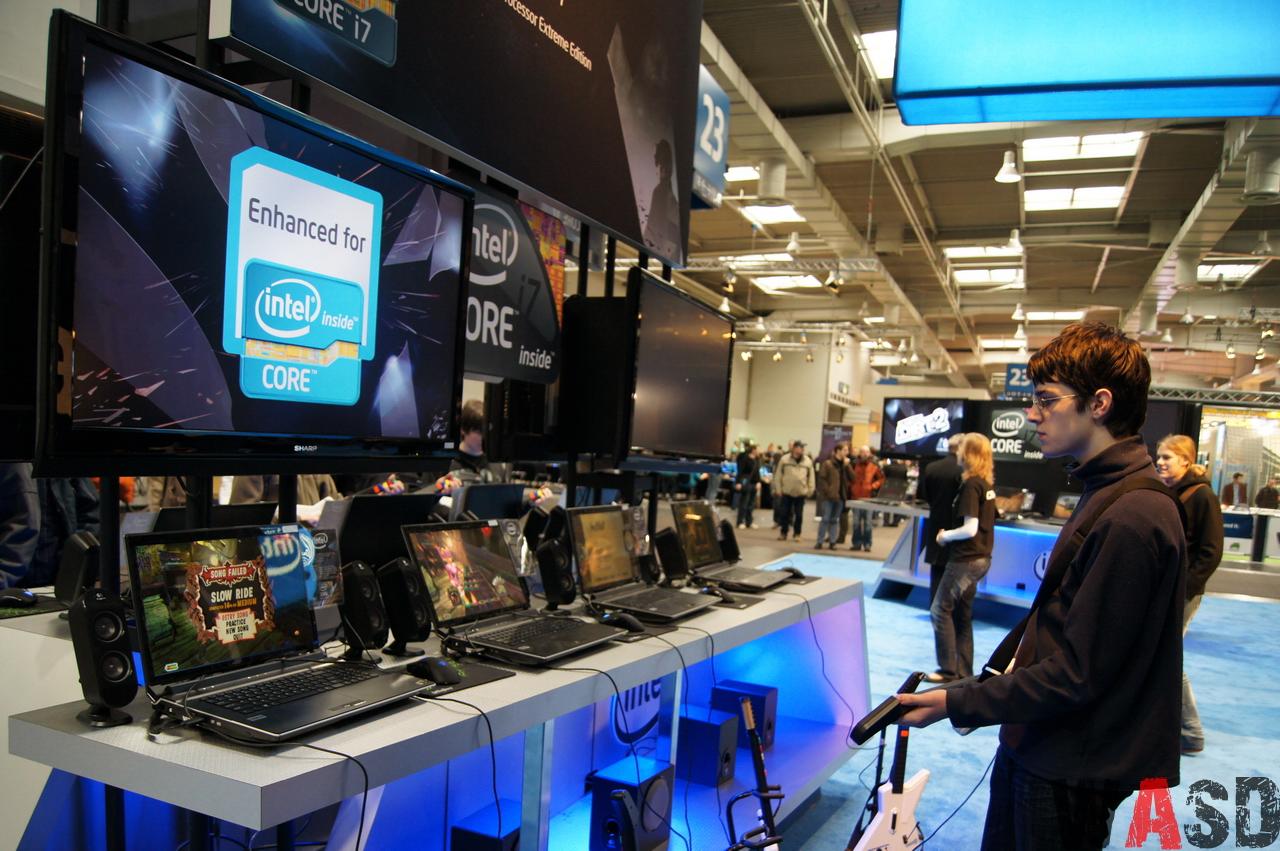 CeBIT 2011 - Intel Extreme Masters - Hall 23