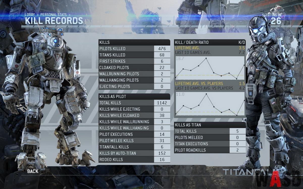 titanfall spune recuperarea listei de