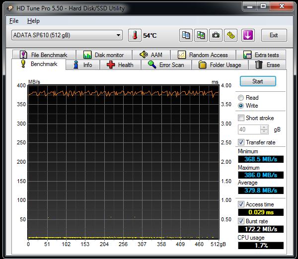 SP610-HD-Tune-write