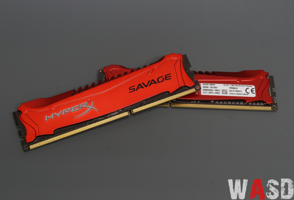 Kingston HyperX Savage 2400 MHz 2x4GB