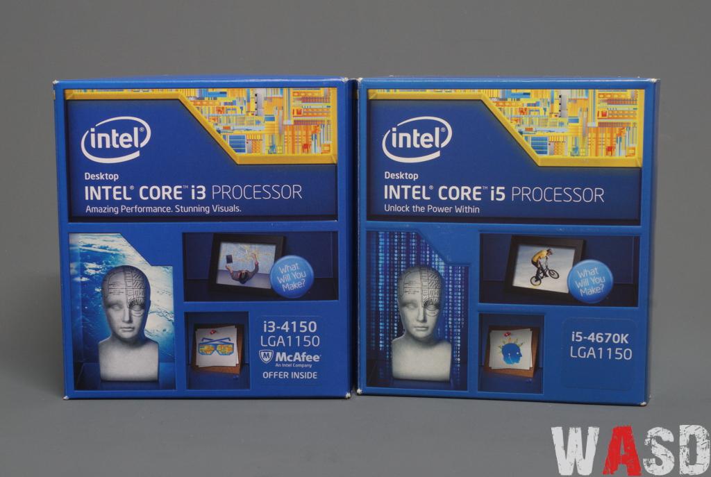 Intel Core i3 4150 & Intel Core i5 4670K