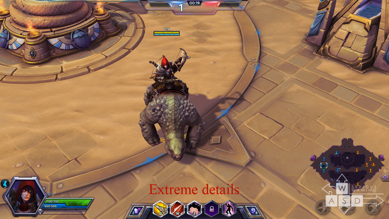 Heroes of the Storm preview - extreme details