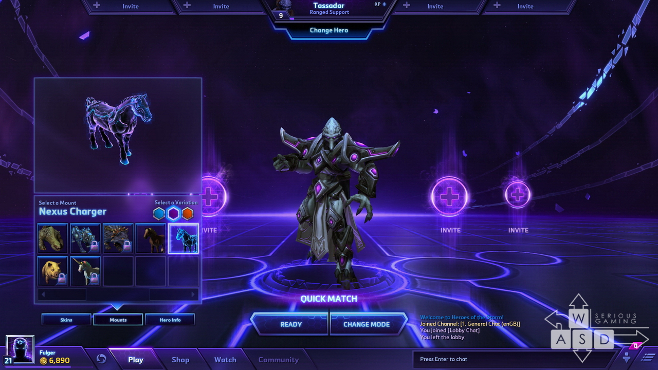 Heroes of the Storm preview - Mounts