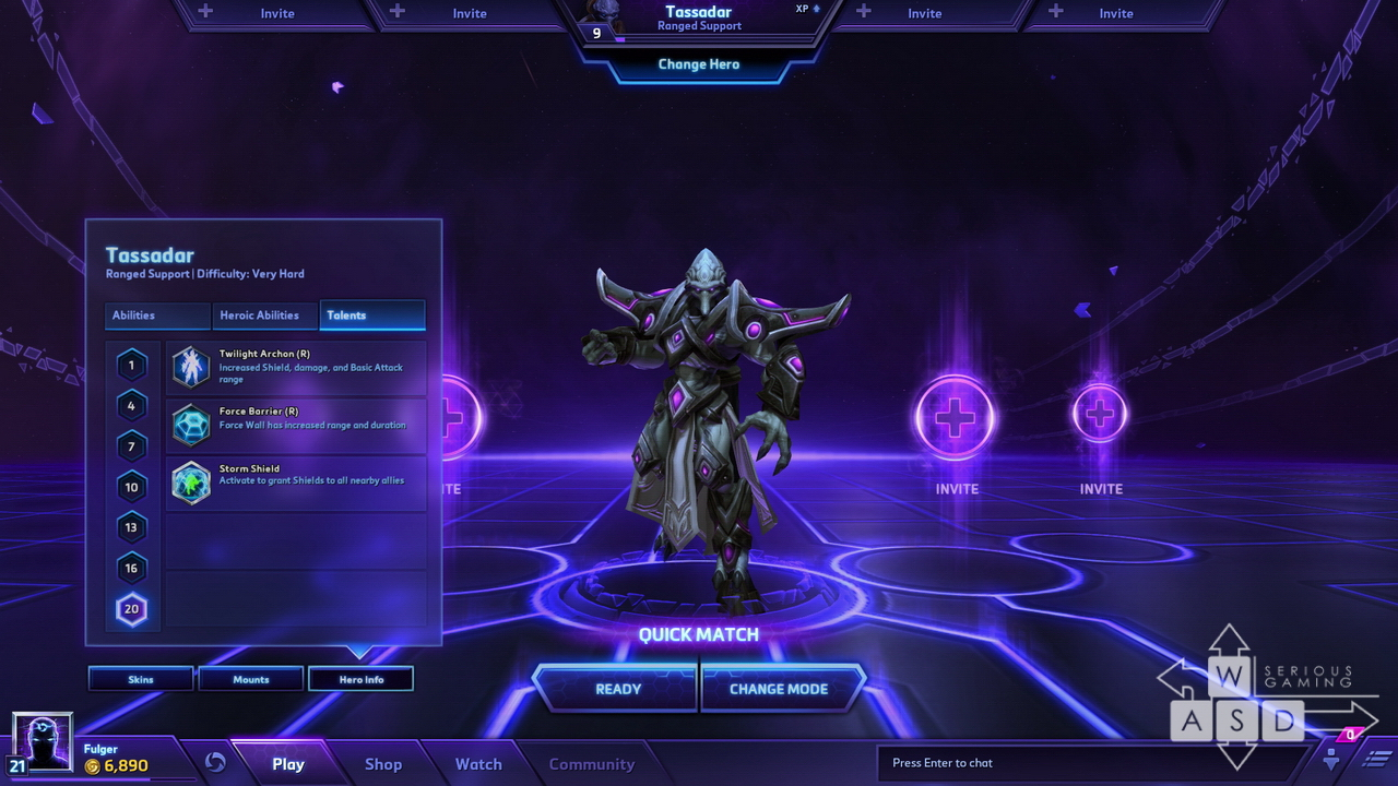 Heroes of the Storm preview - Talents