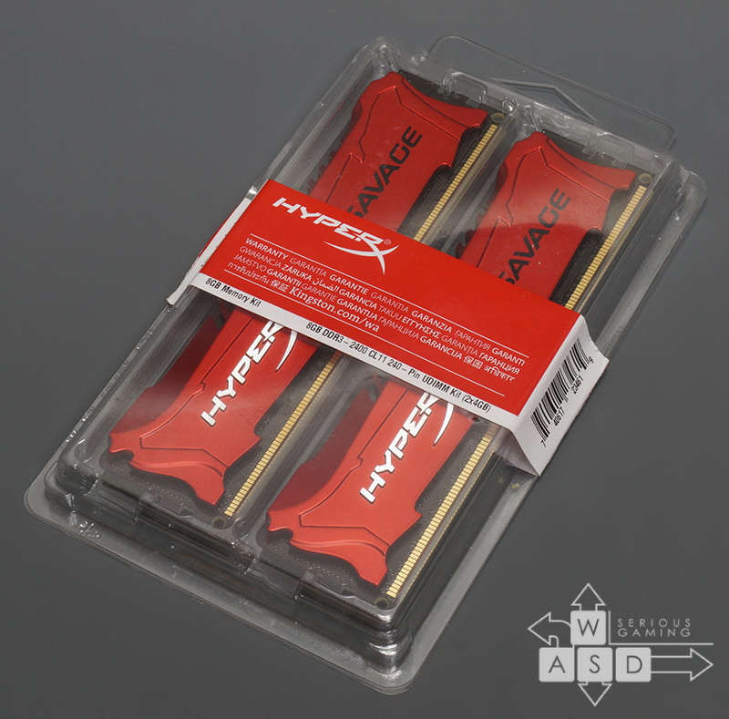 HyperX Savage 2x4GB 2400 MHz