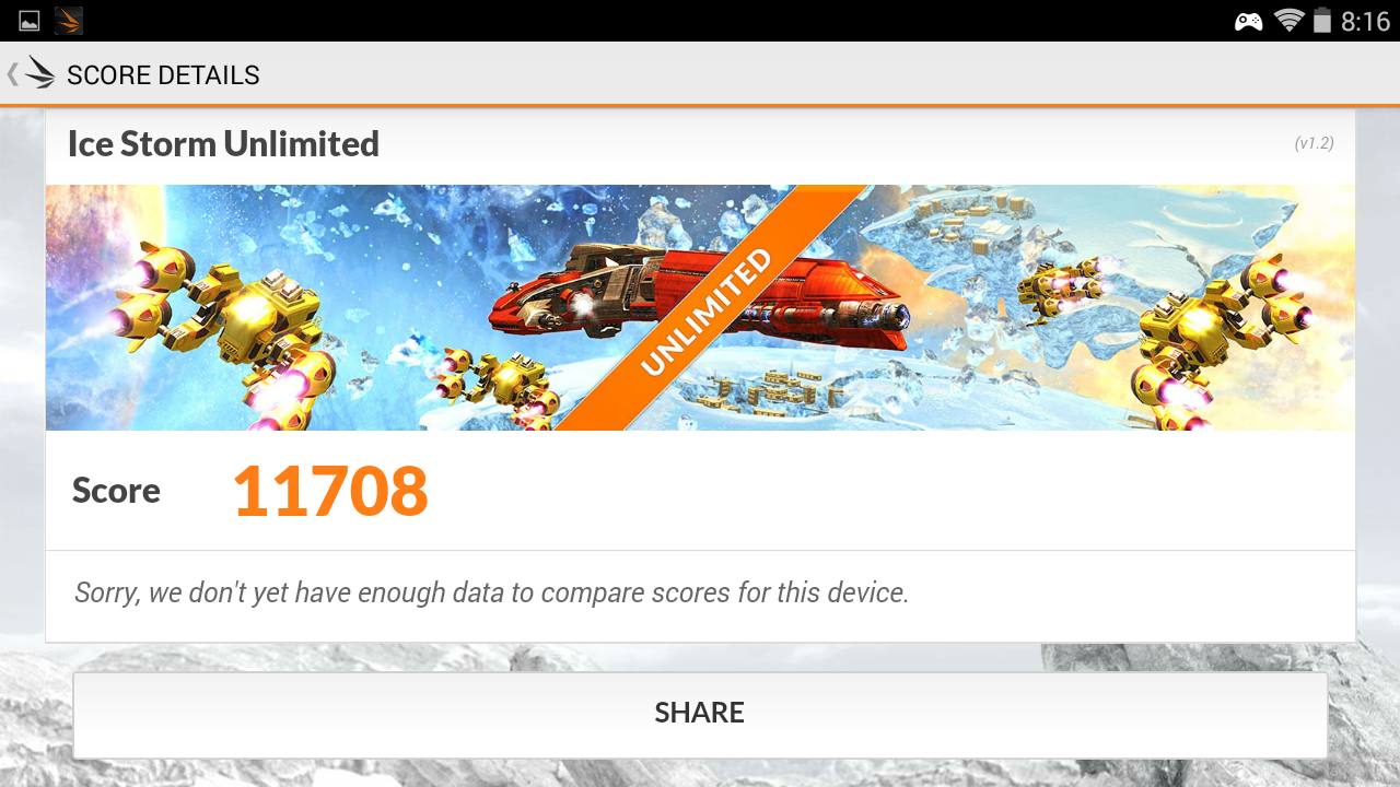 3dmark icestorm unlimited