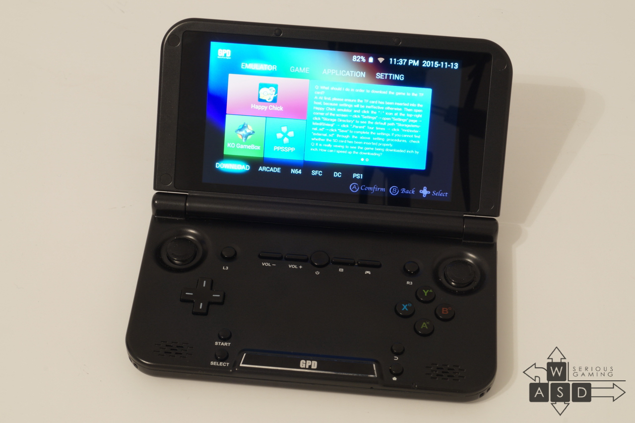 GPD XD Gaming Tablet