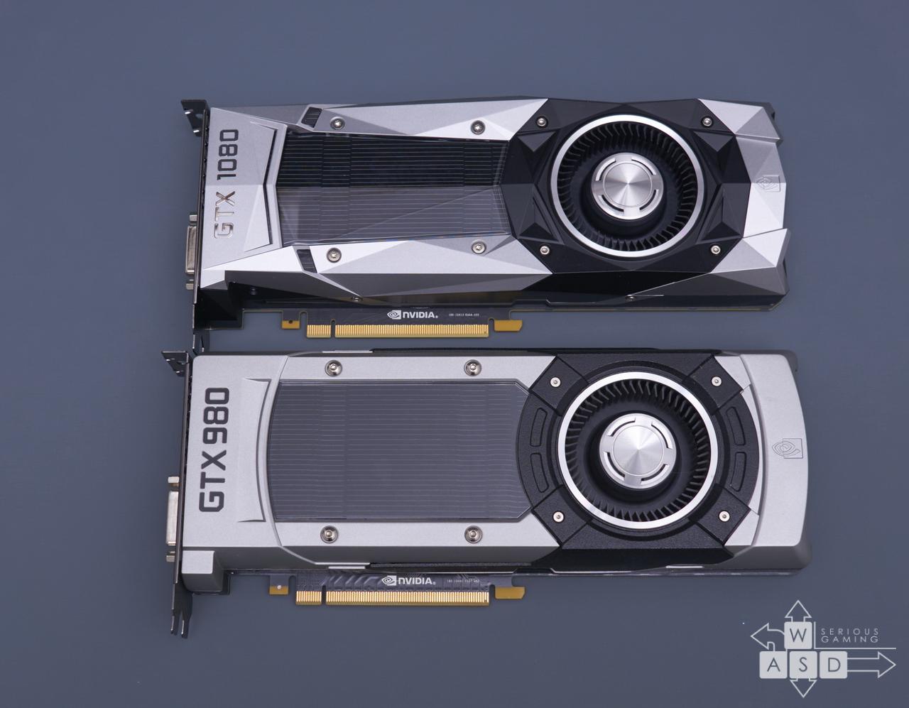 Nvidia GeForce GTX 980 & GTX 1080