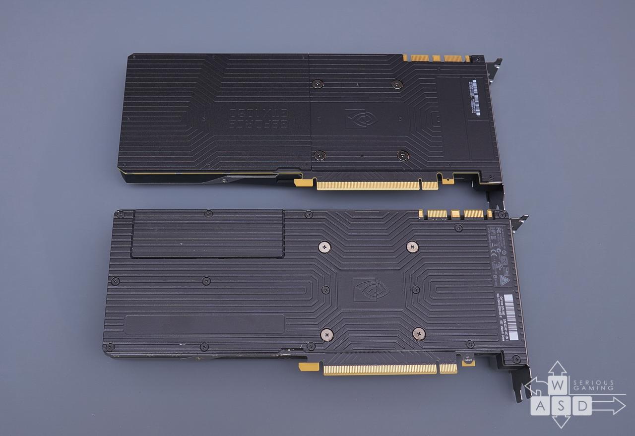 Nvidia GeForce GTX 1080 & 980 backplate