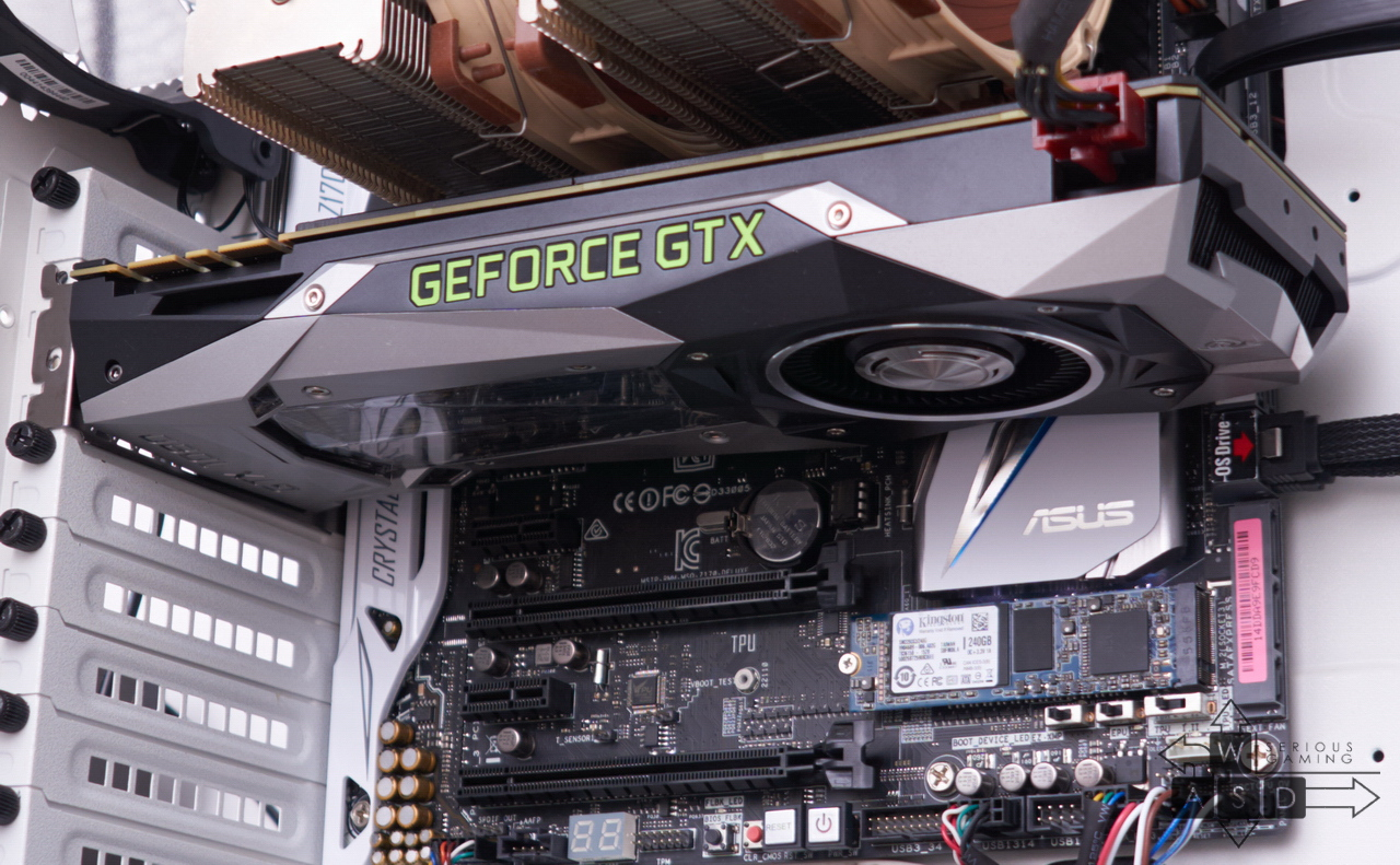 Platforma de teste pentru GTX 1080