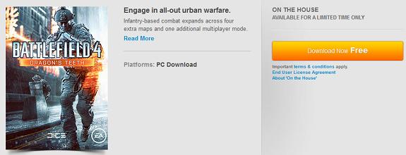 Battlefield 4 Dragon's Teeth DLC
