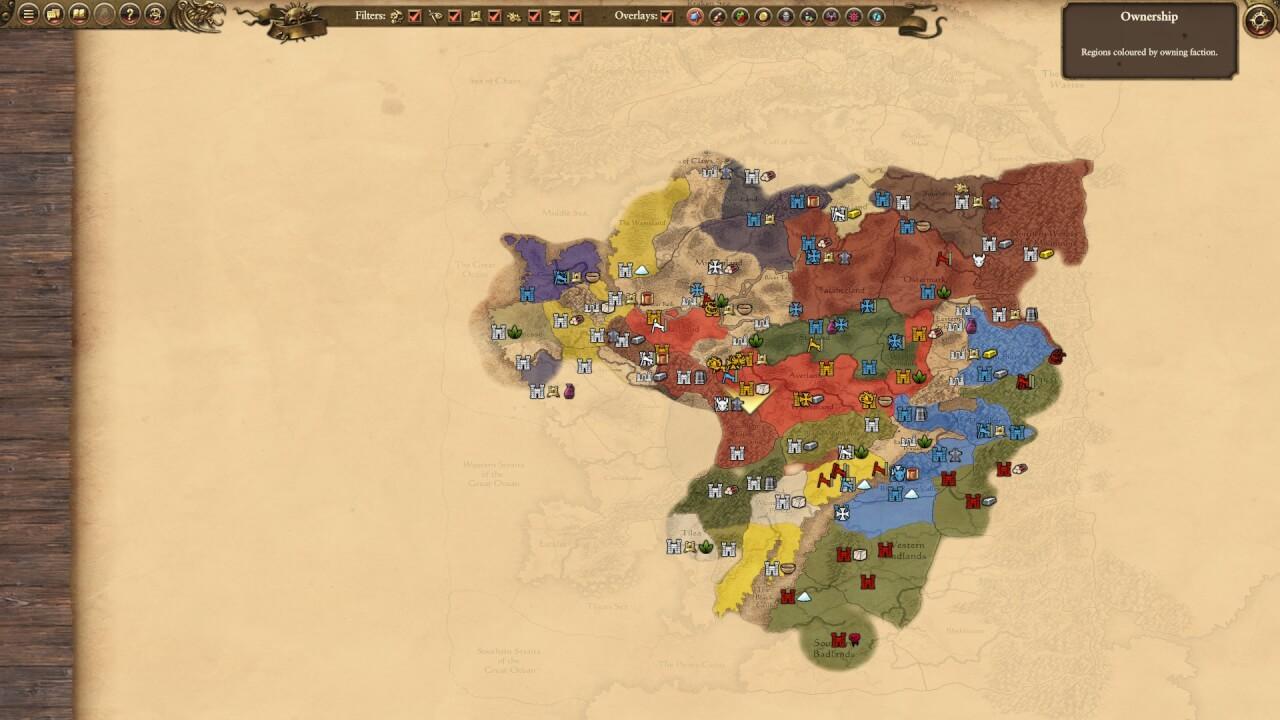 The Old World aka NOT-Renaissance-Europe. Bine, lumea din Warhammer Fantasy e mult mai mare, dar îmi limitez explicația la ceva relevant pentru jocul făcut de Creative Assembly.