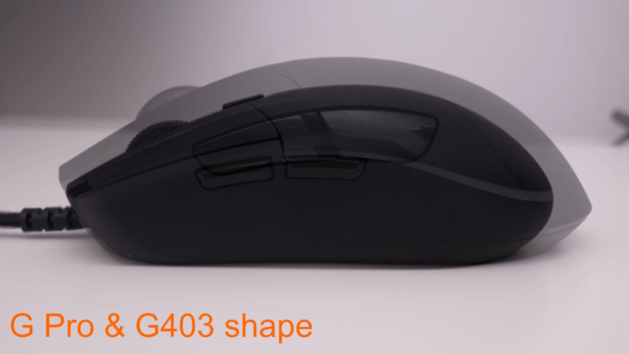 Logitech G403 vs G Pro