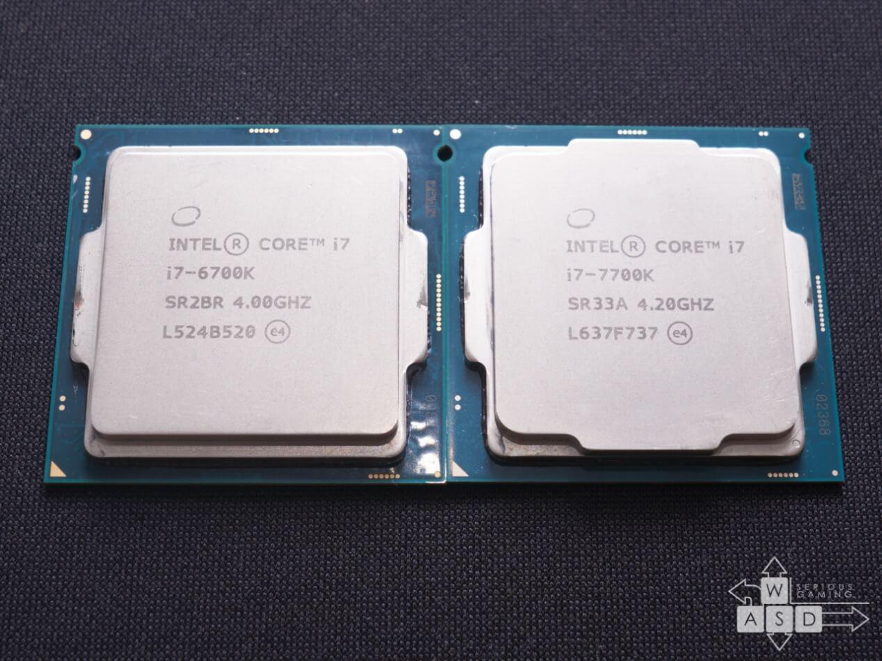 Intel Core i7 7700K & 6700K