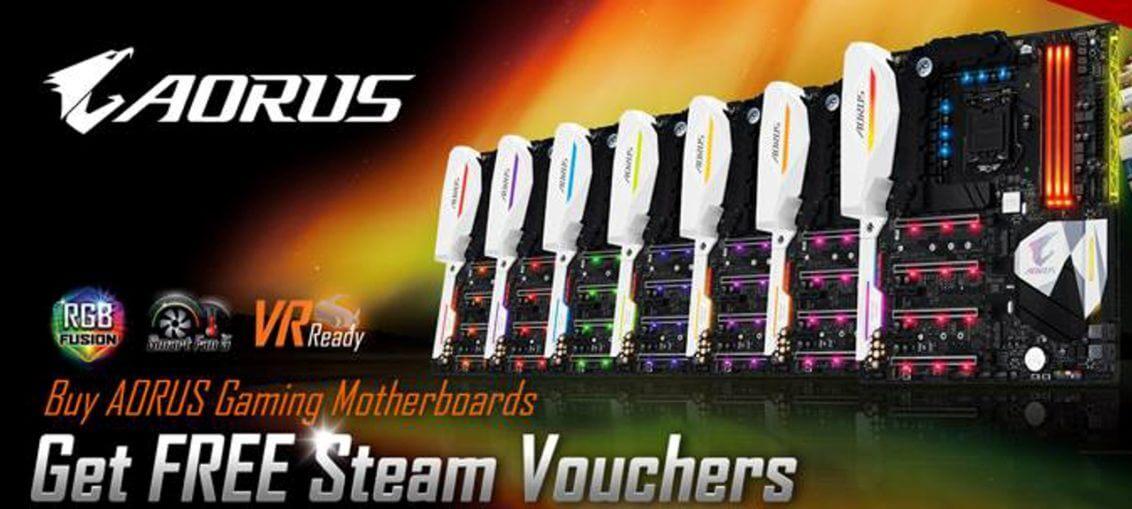 AORUS Steam Promo