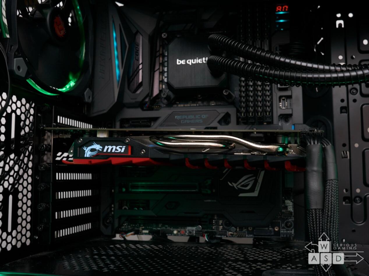 platforma de teste MSI RX 470 Gaming X 8GB