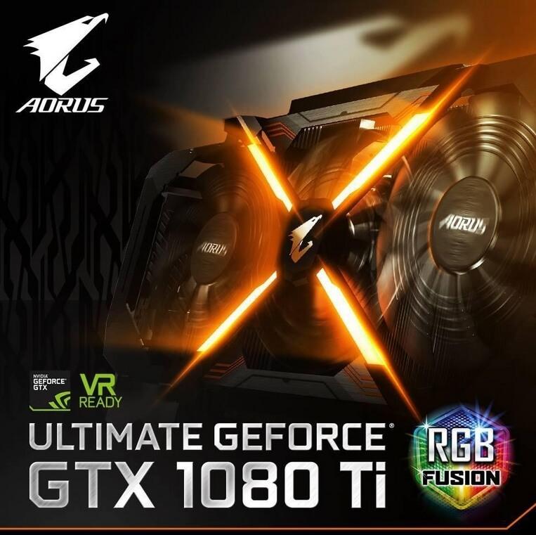 Gigabyte GeForce GTX 1080 Ti AORUS Xtreme