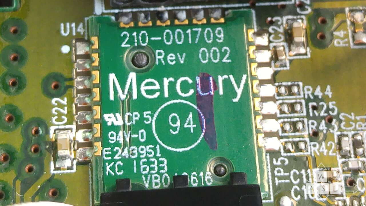 Logitech G203 Mercury sensor