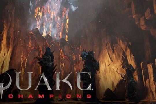 Quake Champions Burial Chamber Arena