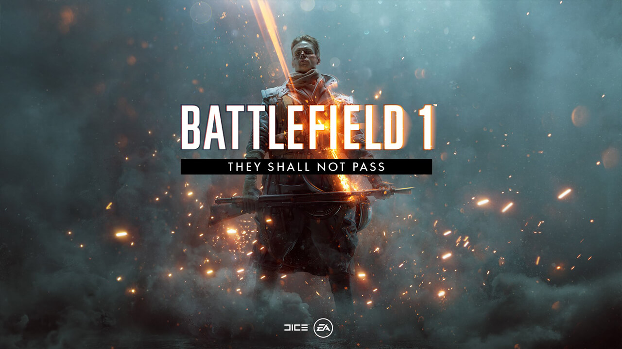 Battlefield 1 va primi 4 DLC-uri, primul dintre ele fiind They Shall Not Pass.