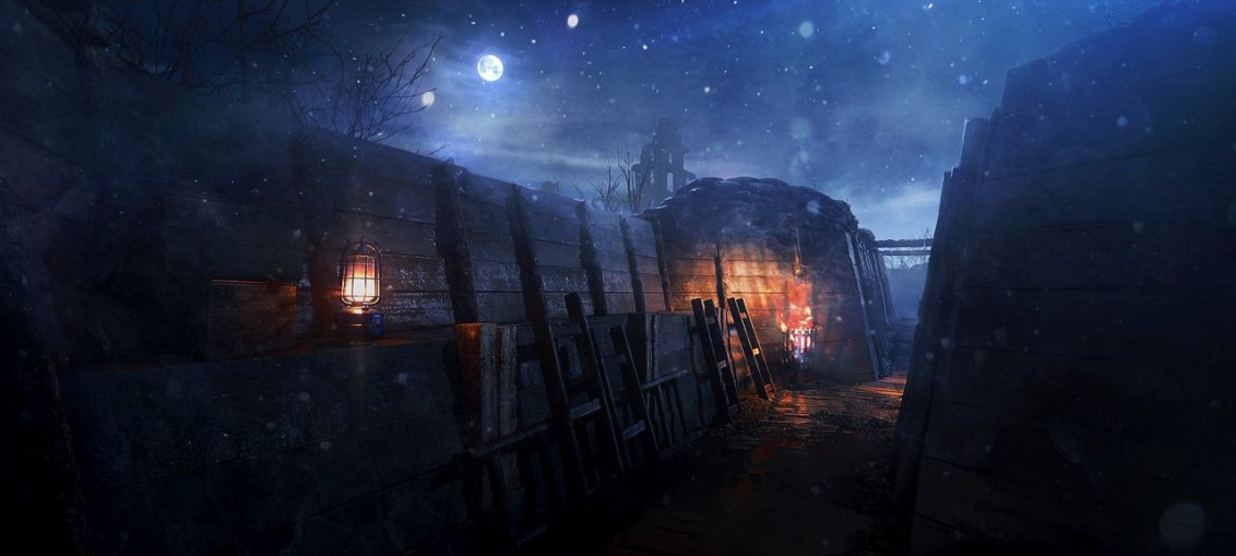 Battlefield 1 night map