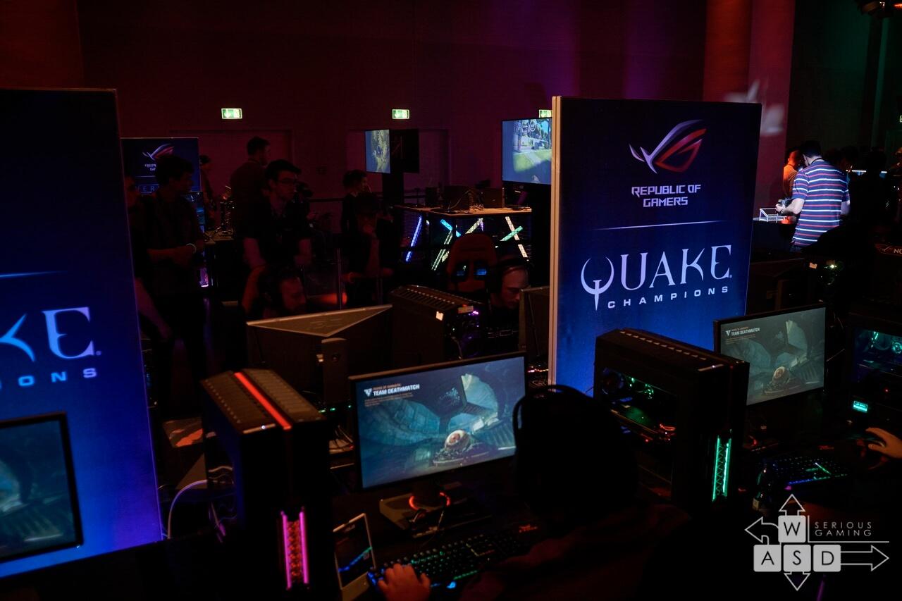 Quake Champions @ Asus Event