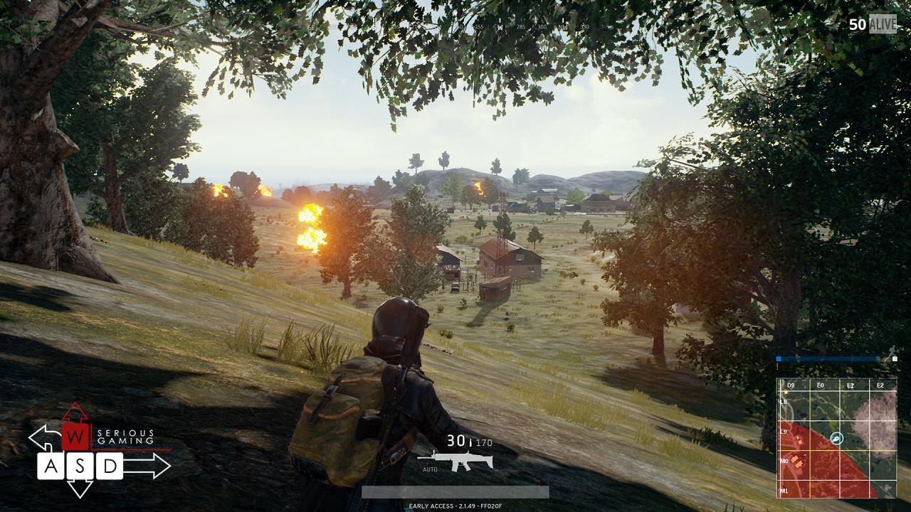 PlayerUnkown's battleogrunds preview