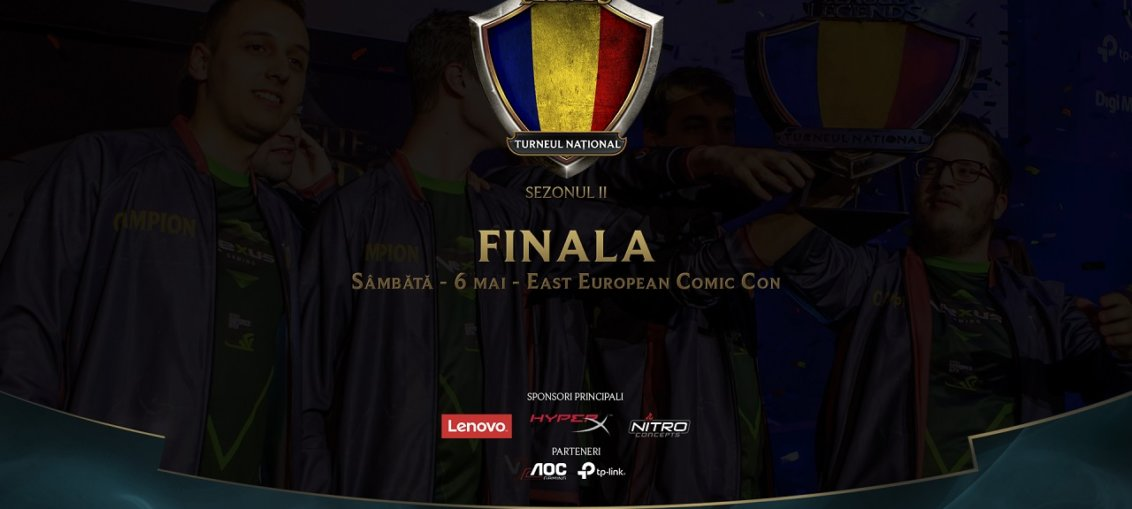 Turneul National League of Legends finala
