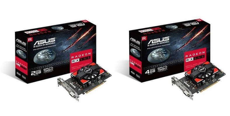 ASUS AMD RX 550