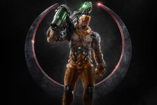 Quake Champions Visor