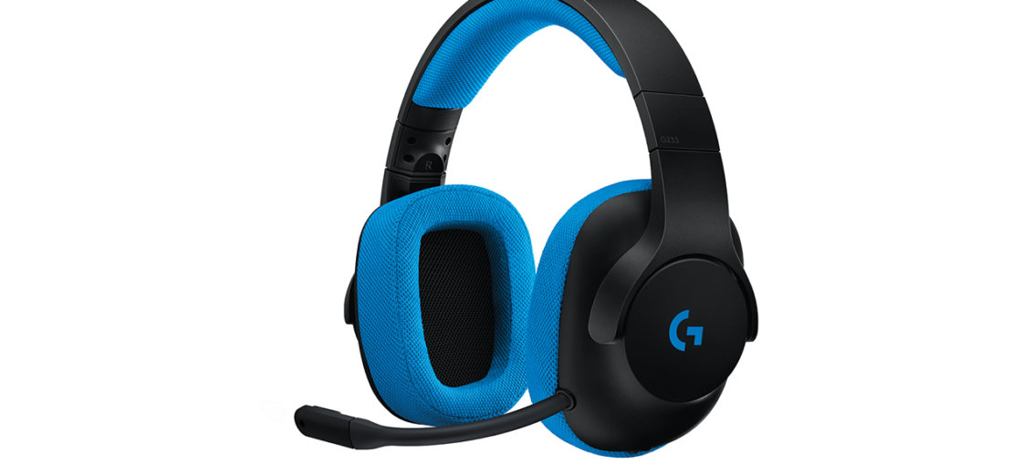 Logitech G433 and G233 headsets