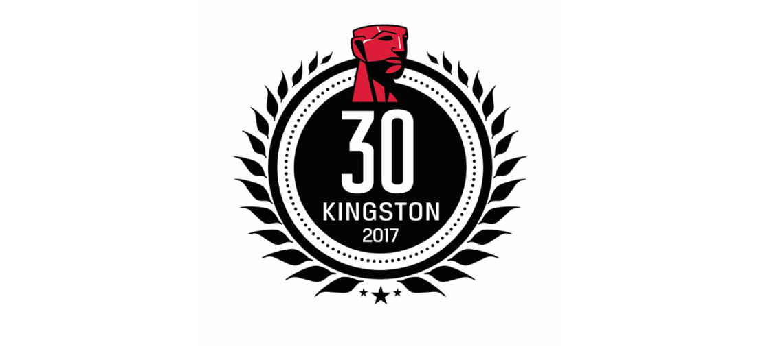 Kingston 30 de ani