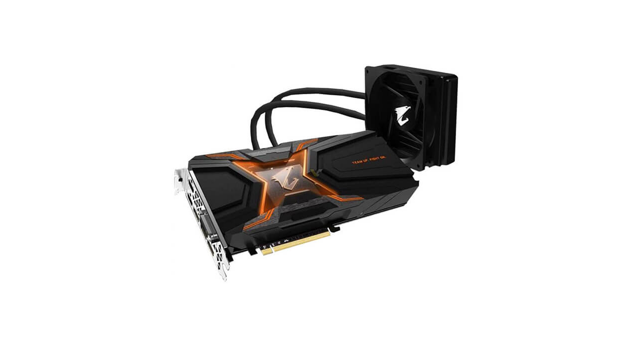 Gigabyte GeForce GTX 1080 Ti Aorus WaterForce Xtreme