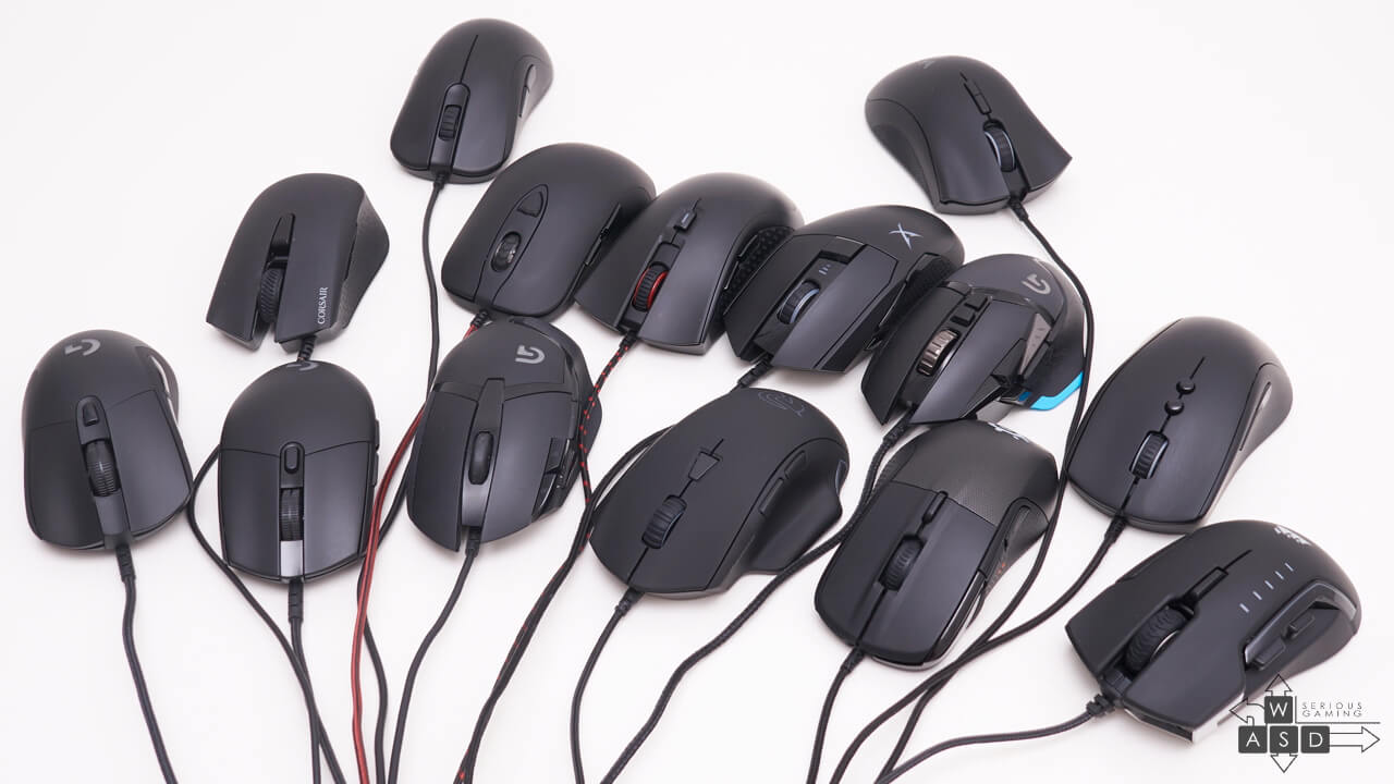 Logitech, Razer, Zowie, SteelSeries, Ozone, Dream Machines, Corsair, Sound BlasterX