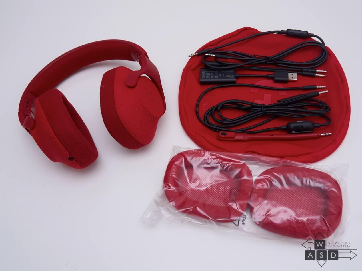 Logitech G433 Red