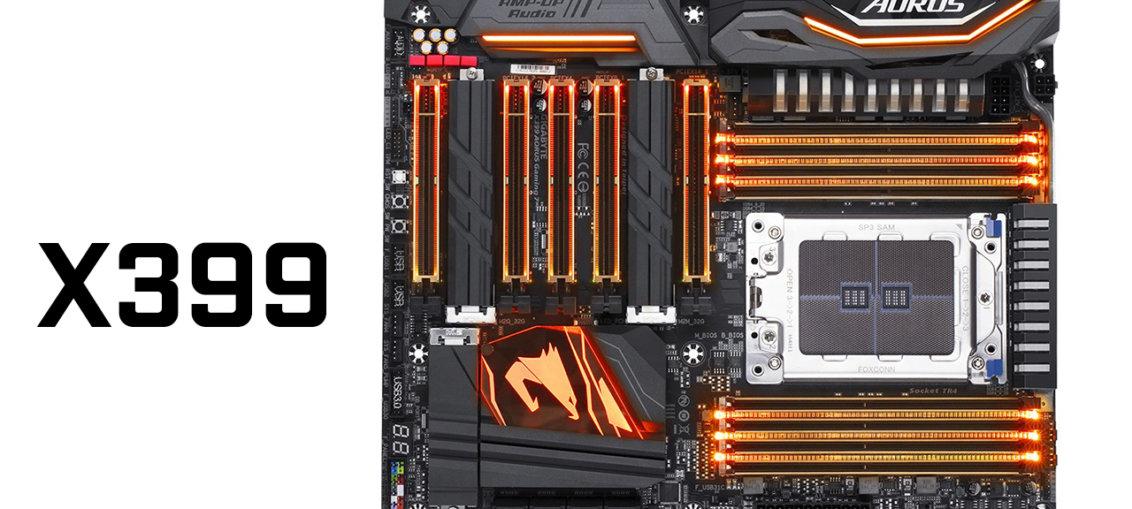 Placile de baza X399 pentru AMD Threadripper de la Gigabyte, MSI si ASRock