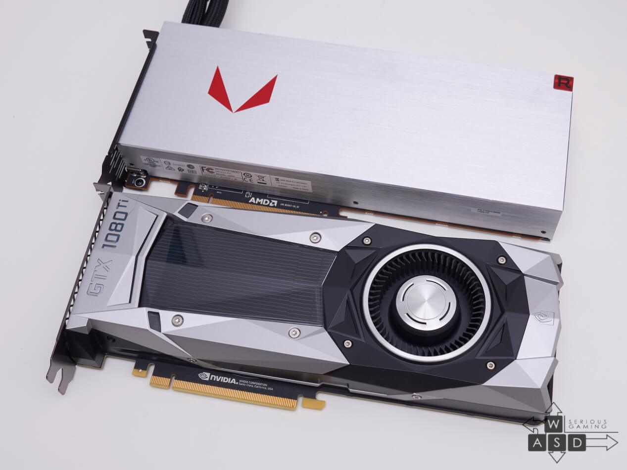 AMD Radeon RX Vega 64 Liquid & Nvidia GeForce GTX 1080Ti Founders Edition