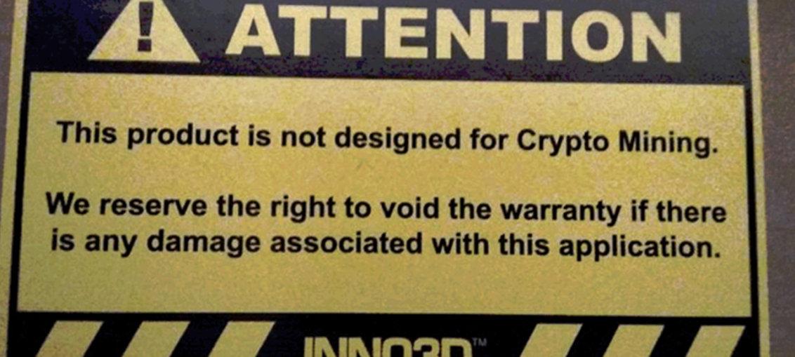 Inno3D Cryptomining