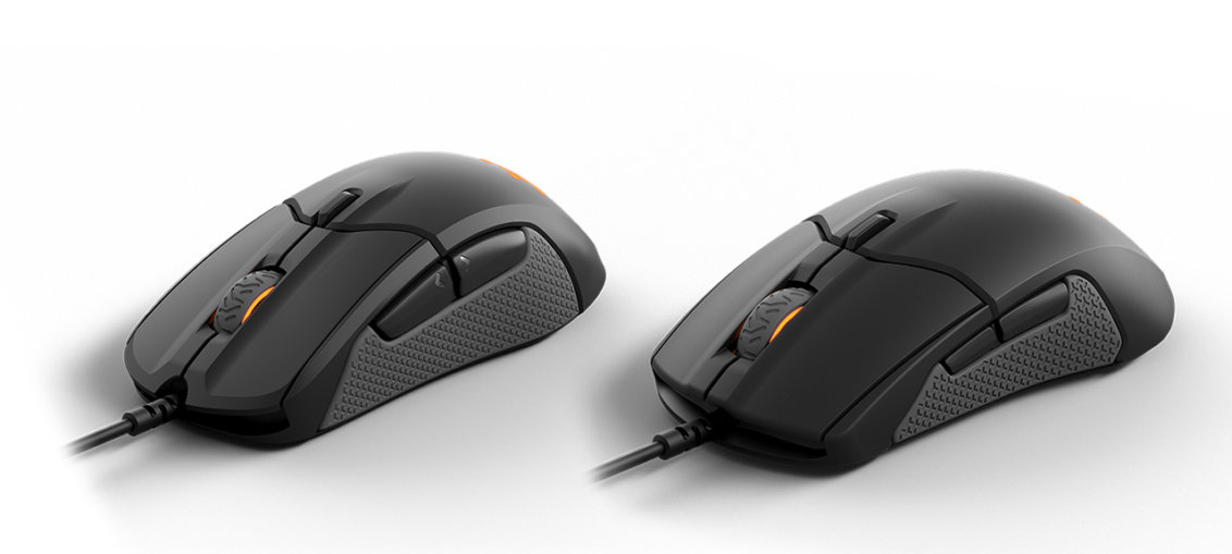 SteelSeries Sensei and Rival 310