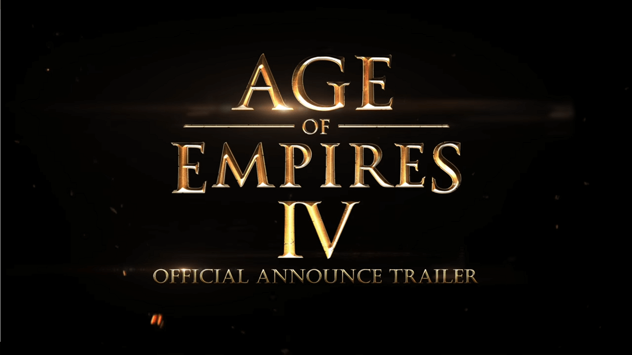 Age of Empires IV announced