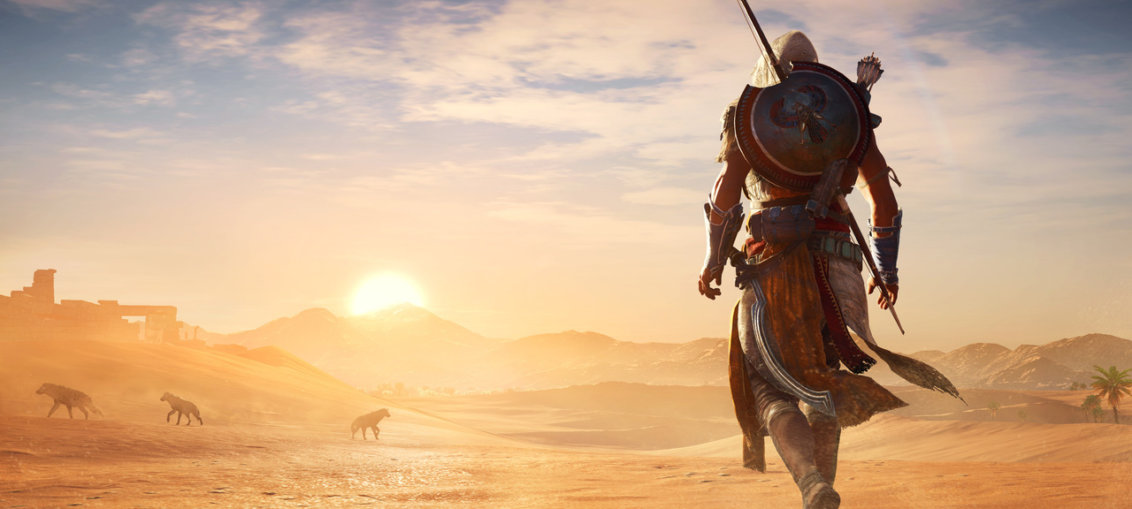 Asssassin's Creed Origins 17 minutes gameplay