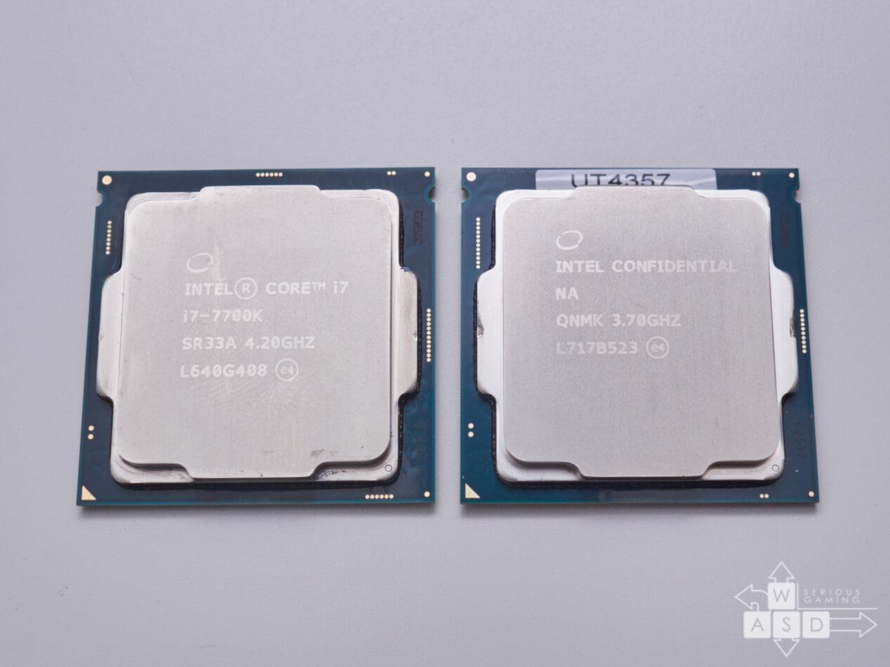 Intel Core i7 8700K & 7700K
