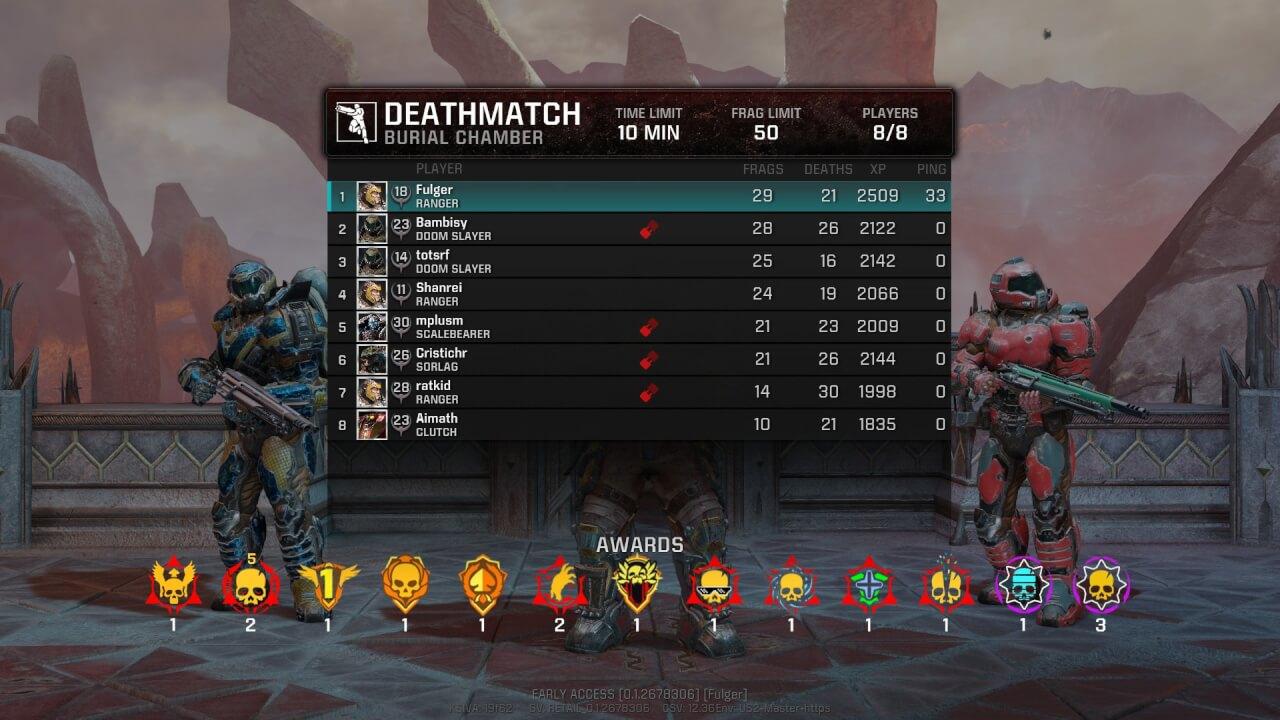 Quake Champions cu Logitech G703