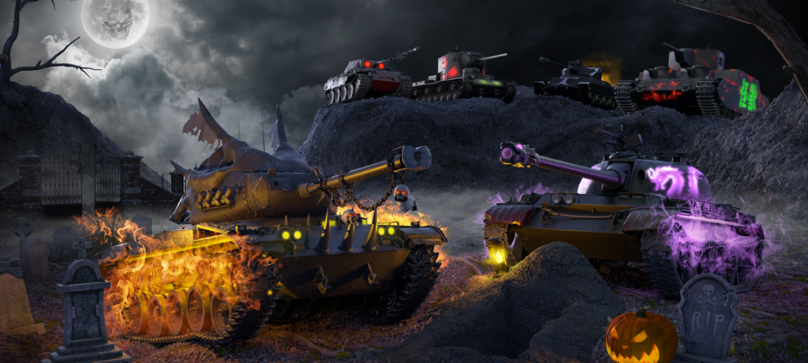 World of Tanks Halloween | WASD