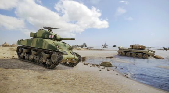 World of Tanks for Xbox One X in 4K HDR   WASD