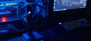 Corsair ST100 Premium Headphones stand review | WASD
