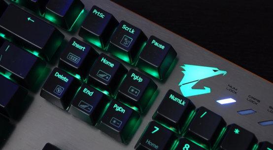 Gigabyte aorus K7 Cherry MX Red RGB gaming Keyboard review | WASD