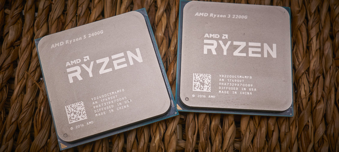 AMD Ryzen 3 2200G & Ryzen 5 2400G review