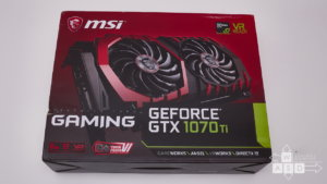 MSI GeForce GTX 1070 Ti GAMING 8GB